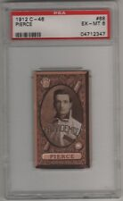 1912 C46 Imperial Tobacco Baseball Card #68 George Pierce PSA 6 Providence Grays