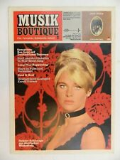 Musik Boutique 1.Jahrgang 2 mit Bee Gees Poster 1960 B26652