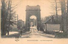 VILLEVALLIER - Le pont suspendu