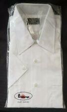 NOS Towncraft Mens White Dress Shirt Short Sleeve Large