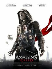 Assassin Creed UK Movie Poster High Quality Metal Fridge Magnet 3x4 9809