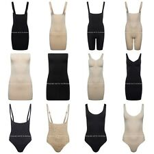 Control Dress Leotard BodyShaper Slip Waist Cincher Tummy Thigh Shapewear NO VPL