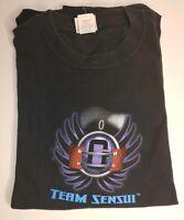 Yu Yu Hakusho Yusuke Spirit Detective TCG Sensui Tournament Cotton Black T-Shirt