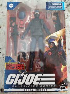 "Hasbro Gi Joe Classified Series Cobra Island Cobra Trooper 6"" Figure MOC In Hand"