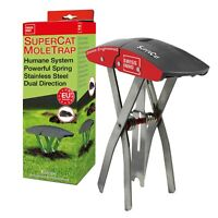 SWISSINNO SuperCat Mole Trap: Ultra-effective with high catch rates. Easy to use