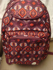ROXY GRAPEVINE GERONA NIGHT SHADOW SWELL SCHOOL BACKPACK/LAPTOP NWT