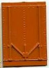 Orange REEFER CAR DOOR for American Flyer S Gauge Scale Trains