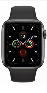 **Apple Watch Series 5 - 44mm - GPS/Cellular - Space Grey**Works Perfectly!**