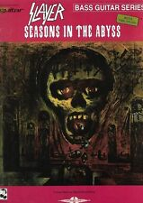 Partition pour basse - Slayer seasons abyss