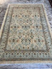 Decorative Design Handmade Art And Craft Natural Dye Rug Carpet SIZE: 267x178 Cm