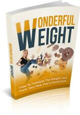 Wonderful Weight pdf ebook+MRR+Free Shipping+Bonus yoga books