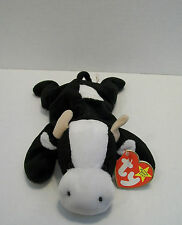 Ty Beanie Baby Daisy The Cow Beanbag Plush Stuffed Toy