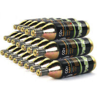 20 x 16g Threaded CO2  Cartridges Refills For Bike Bicycle Pump Inflator
