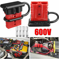 50A Battery Quick Connect Disconnect Wire Harness Plug Winch Trailer Connector