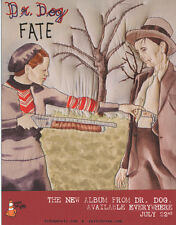 Dr. Dog Fate RARE promo collectible card '08