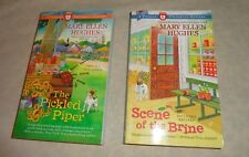 lot 2 MARY ELLEN HUGHES cozy mysteries PICKLED & PRESERVED