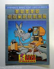 Album Figurine-Stickers - TUTTO COMPUTER Edis 1985 - Con 5 figurine MOLTO BUONO