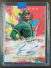 2020 Topps Inception Rookie and Emerging Stars AUTO Red Jesus Luzardo 08/75