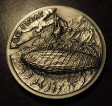 Log Float Longines Sterling Silver Medal - 36 grams Logging