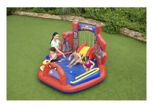 Marvel Spider-Man Inflatable Kids Water Play Center  Ages 2+