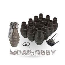 HAKKOTSU VALKEN Thunder B CO2 Sound Grenade Pineapple package with 12 Shell