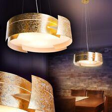 Design pendant ceiling light gold hanging lamp glass suspension lighting 133944