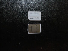 NEW SPRINT NANO/4FF SIM CARD SIMGLW446C/63.10a SPRINT/VIRGIN,BOOST