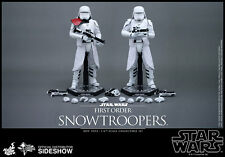 "12"" Star Wars First Order Snowtrooper 2pk Set Hot Toys 902553 In Stock"