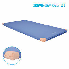(4) Grevinga® Turnmatte - Turnmatten mit Lederecken ca. 200 x 100 x 6 cm 138904