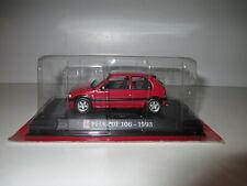 RARE PEUGEOT 106 XSI Rouge Red Rot de 1993 par AutoPlus 1/43 NEUVE SOUS BLISTER