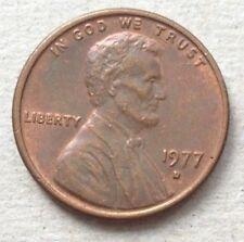 USA 1 cent 1977 D coin