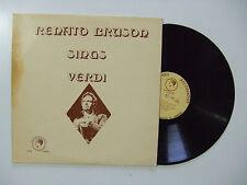 Renato Bruson –Renato Bruson Sings Verdi-Disco Vinile 33 Giri LP Album Classica