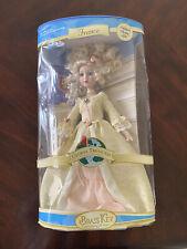 "2006 Brass Key Keepsakes Global Treasures France Porcelain Doll 16"""