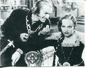 Katherine DeMille Autograph Actress Call Of The Wild Ramona Signed Photo Page