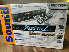 Creative Audigy 2ZS Video Editor brand new in box
