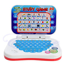 1Pc Baby Kids Mini PC Machine Toys Study Game Intellectual Learning Song