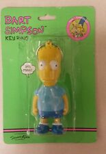 BART SIMPSON KEY RING! Unique old hard to find Vintage / Collectable Item! NICE!