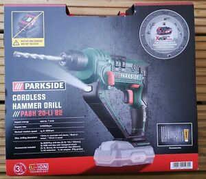 Parkside 20V Cordless Hammer Drill with SDS-plus bits 🛠️