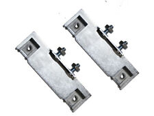 1970 FORD MUSTANG DELUXE DOOR PANEL CUP BRACKETS PAIR #D0ZZ-65240A10-B #70-14845