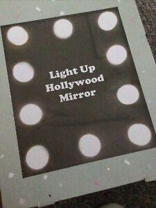 Light up Hollywood Mirror