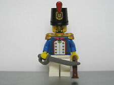 Lego PIRATES NAPOLEONIC WARS FRENCH Fusilier Infantry Officer MINIFIG