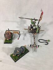 Warhammer Fantasy Orcs and Goblins Chariot Painted