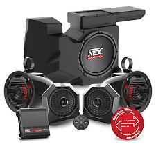MTX Polaris RZR Bluetooth Four Speaker, Dual Amplifier, SUBWOOFER SYSTEM RZRBT4