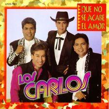 Los Carlos que no se acabe el amor CD New Nuevo sealed