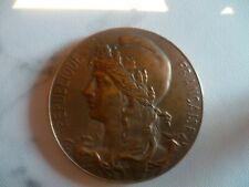 ancienne Médaille bronze syndicat patronal boulangerie de paris 1930 - old medal