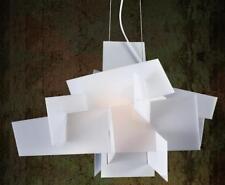 40W Acrylic LED Ceiling Light White or Red Puzzle Pendant Light BigBang Stacking