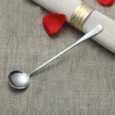 Cute Long Handle Spoon Coffee Stainless Steel Creative Korean Ice Cream Dessert