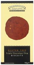 """RICH AND INDULGENT FROM LANCASHIRE """"GLUTEN FREE TRIPLE CHOCOLATE CHIP 150g"""""""