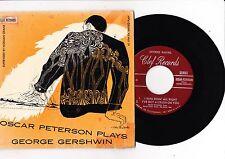 "7"" Oscar Peterson plays George Gershwin ----"