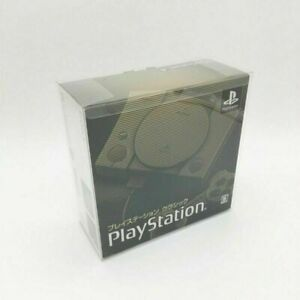 PET Dustproof Display Collection Box for Sony PlayStation Classic Mini Console